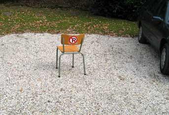 parkeerstoel